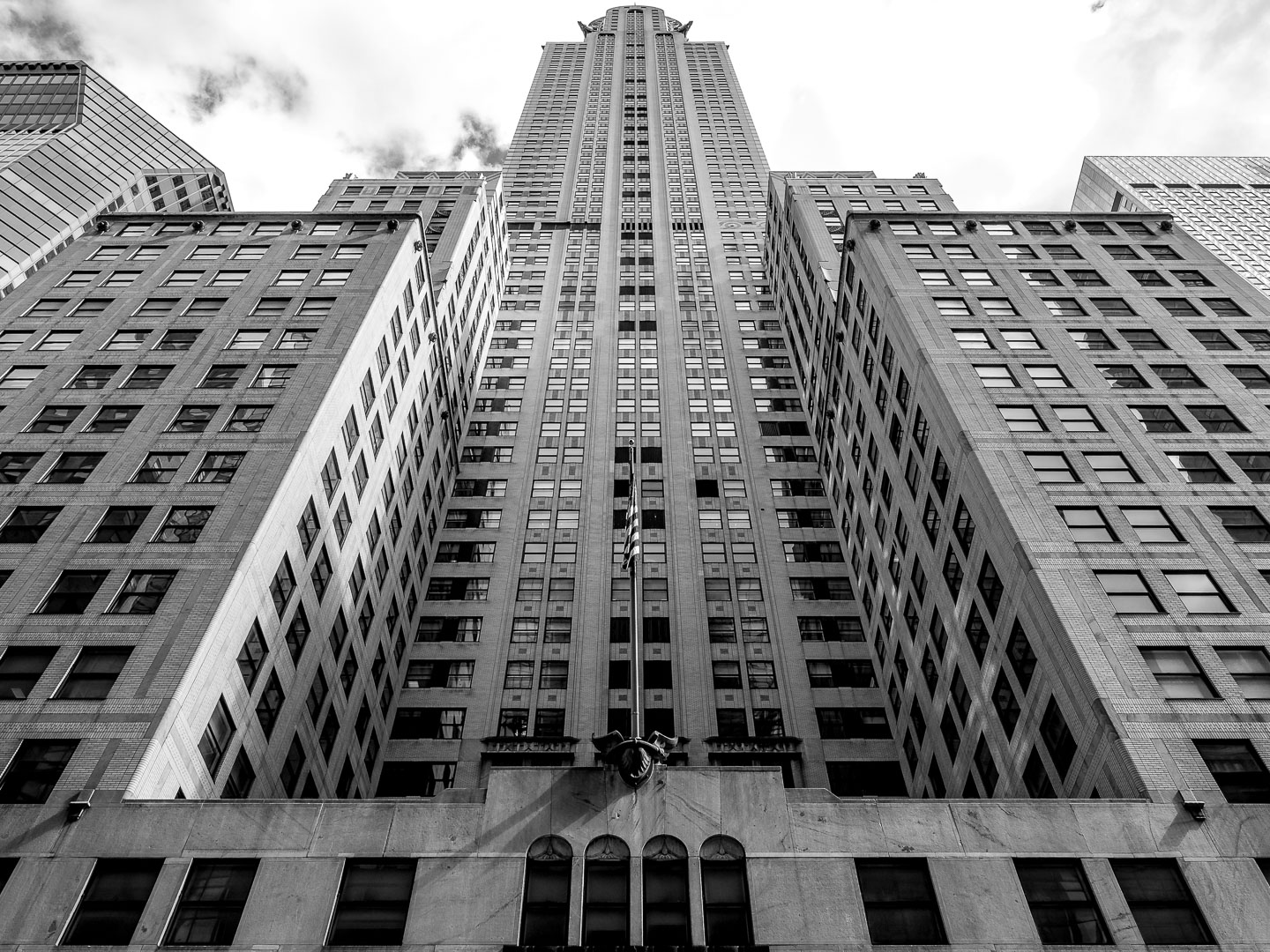 Looking up the Chrysler Building
